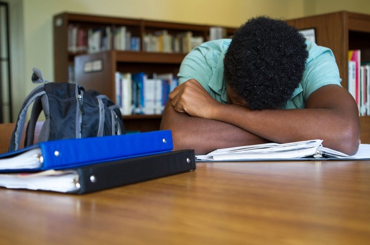 Black student troubled.