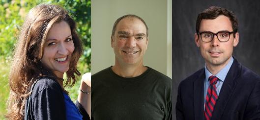 Three researchers headshots