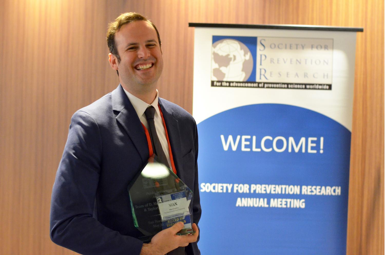 Max Crowley and SPR award.