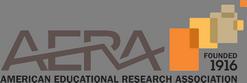 Logo for AERA: American Educational Research Association.