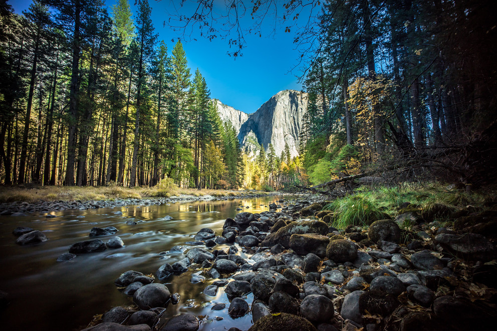 A view of El Capitan, Yosemite National Park