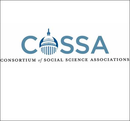 COSSA logo: Consortium of Social Science Associations.