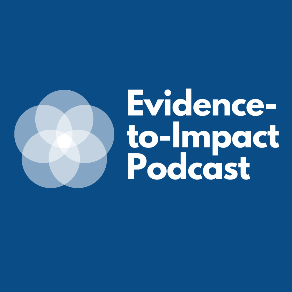 EIC Podcast logo in blue with white font.