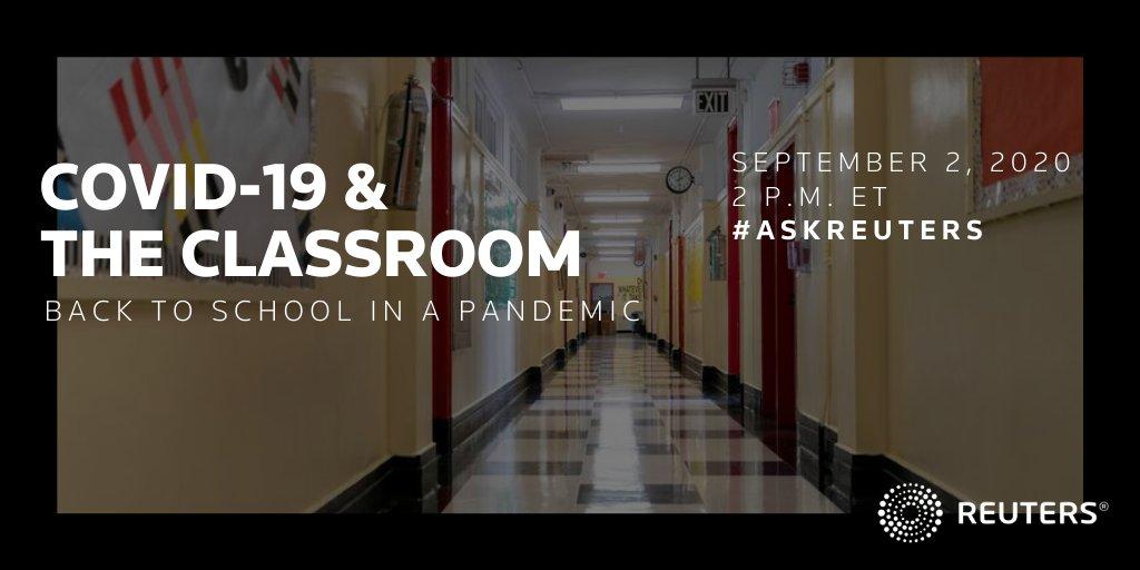 COVID-19 & The Classroom graphic