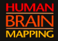Graphic with the words: Human Brain Mapping.