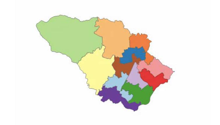 Howard county map