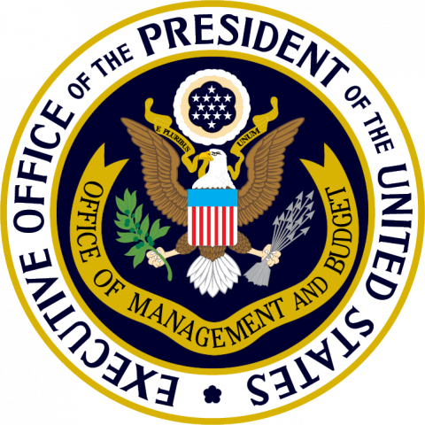 Seal for Executive Office of the President of the United States Office of Management and Budget.