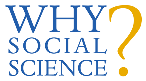 """Graphic with the words """"Why Social Science?""""."""