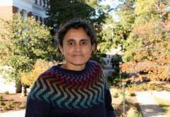 Madhavan short dark hard and stripe sweater