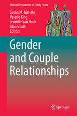 Photo of book cover for Gender and Couple Relationships.