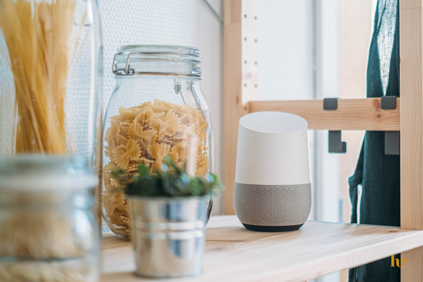 Voice assistant in a smart home